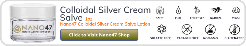 Silver Nanoparticles or not a cream salve is always useful.