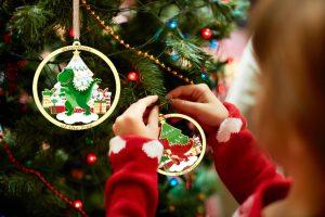 dinosaur Christmas ornaments